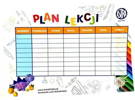 Nowy Plan Lekcji - obowiązujący od 4.09.2019r.